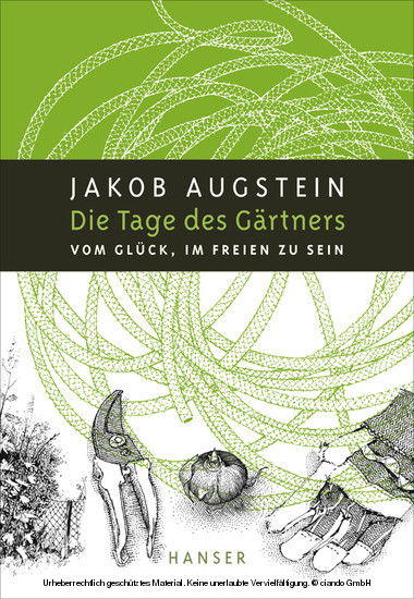 Die Tage des Gärtners - Blick ins Buch
