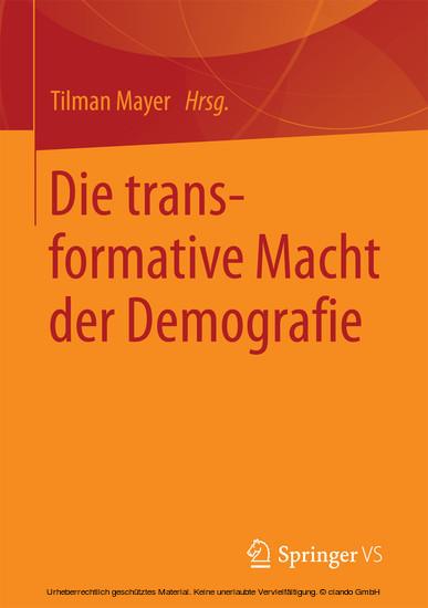 Die transformative Macht der Demografie - Blick ins Buch