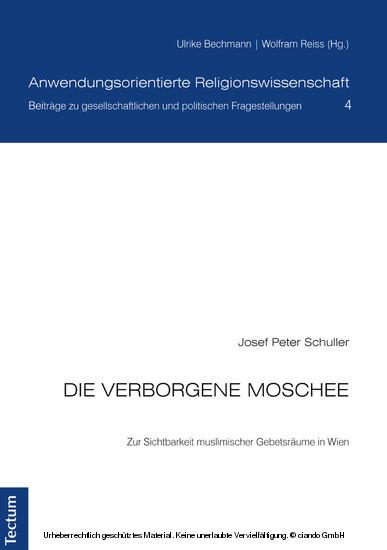 Die verborgene Moschee - Blick ins Buch
