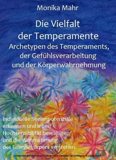 Die Vielfalt der Temperamente - Blick ins Buch