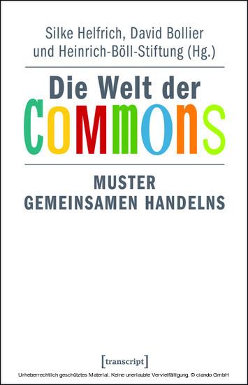 Die Welt der Commons - Blick ins Buch