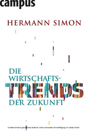 Die Wirtschaftstrends der Zukunft - Blick ins Buch