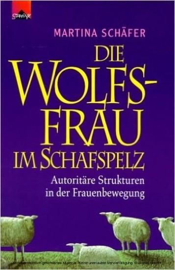 Die Wolfsfrau im Schafspelz - Blick ins Buch