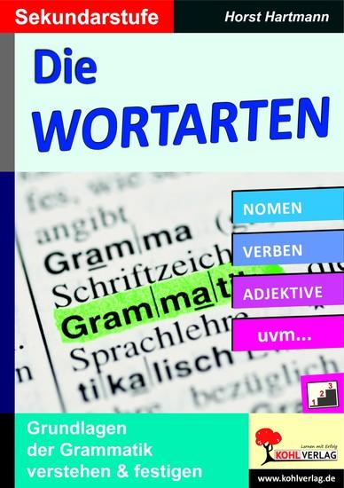 Die Wortarten / Sekundarstufe - Blick ins Buch