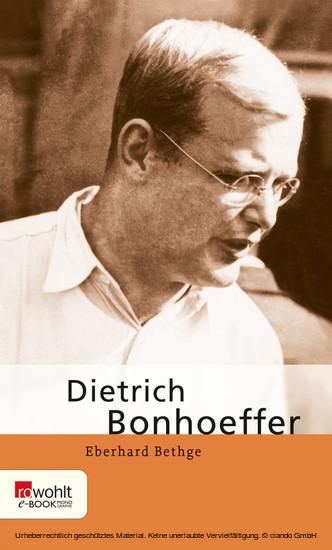 Dietrich Bonhoeffer - Blick ins Buch