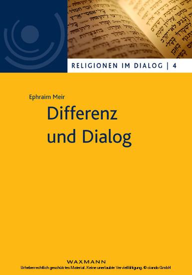 Differenz und Dialog - Blick ins Buch