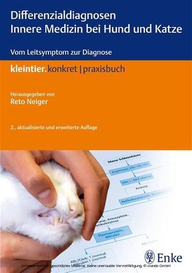 Differenzialdiagnosen Innere Medizin bei Hund und Katze - Blick ins Buch