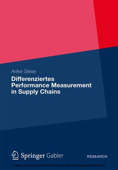 Differenziertes Performance Measurement in Supply Chains - Blick ins Buch