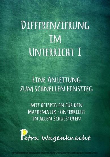 Differenzierung im Unterricht I - Blick ins Buch
