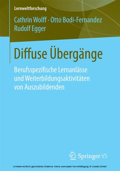Diffuse Übergänge - Blick ins Buch