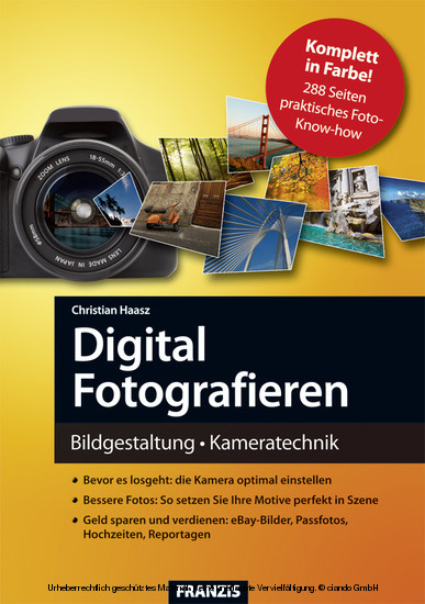 Digital Fotografieren - Blick ins Buch