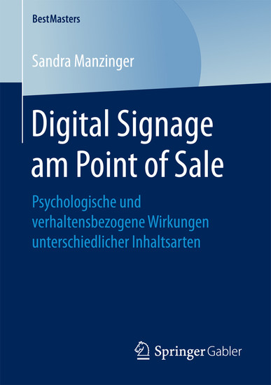 Digital Signage am Point of Sale - Blick ins Buch