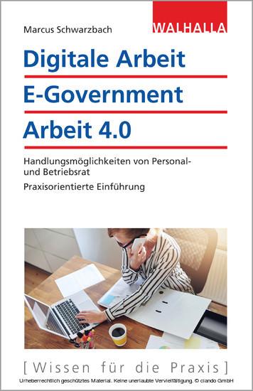 Digitale Arbeit, E-Government, Arbeit 4.0 - Blick ins Buch