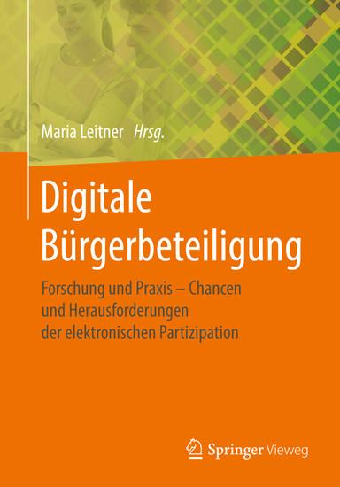 Digitale Bürgerbeteiligung - Blick ins Buch