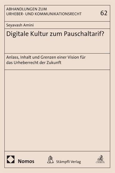 Digitale Kultur zum Pauschaltarif? - Blick ins Buch