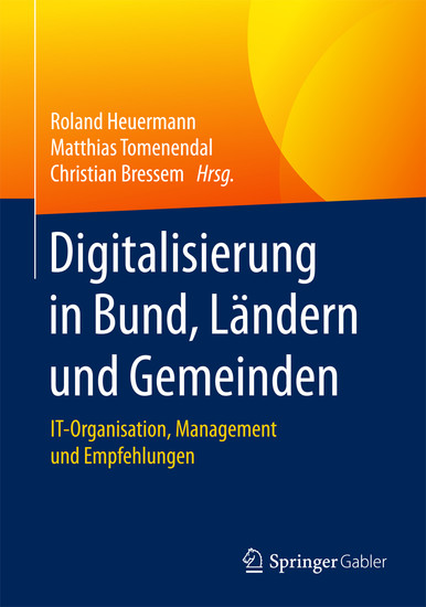 Digitalisierung in Bund, Ländern und Gemeinden - Blick ins Buch