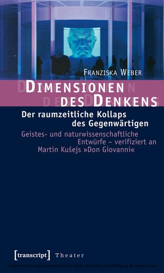 Dimensionen des Denkens - Blick ins Buch