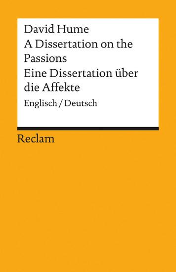 A Dissertation on the Passions / Eine Dissertation über die Affekte - Blick ins Buch