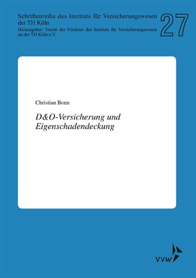 D&O-Versicherung und Eigenschadendeckung - Blick ins Buch