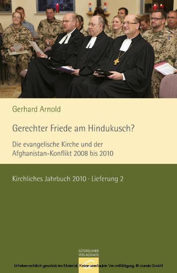 Dokumente zum kirchlichen Zeitgeschehen - Kirchliches Jahrbuch 2010, Jg. 137, Lfg. 2 - Blick ins Buch