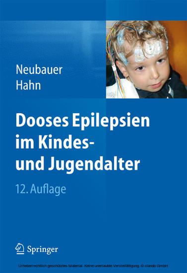 Dooses Epilepsien im Kindes- und Jugendalter - Blick ins Buch