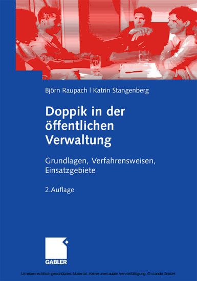 Doppik in der öffentlichen Verwaltung - Blick ins Buch