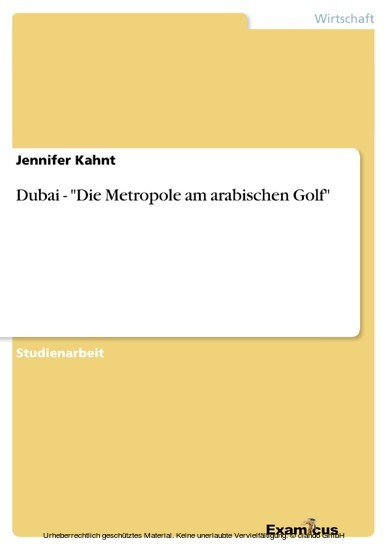 Dubai - 'Die Metropole am arabischen Golf' - Blick ins Buch