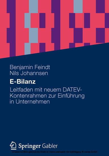 E-Bilanz - Blick ins Buch