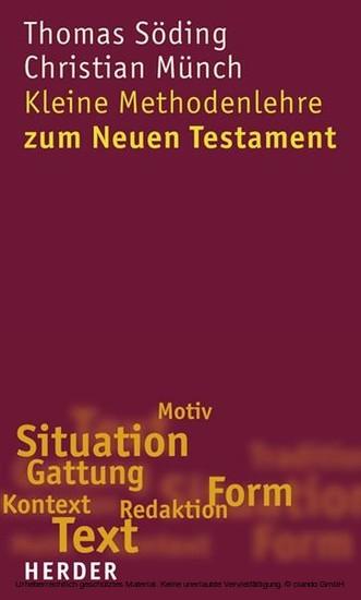E-Book: Kleine Methodenlehre zum Neuen Testament - Blick ins Buch