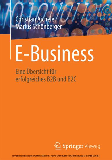 E-Business - Blick ins Buch