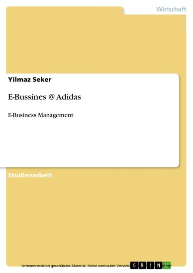 E-Bussines @ Adidas - Blick ins Buch
