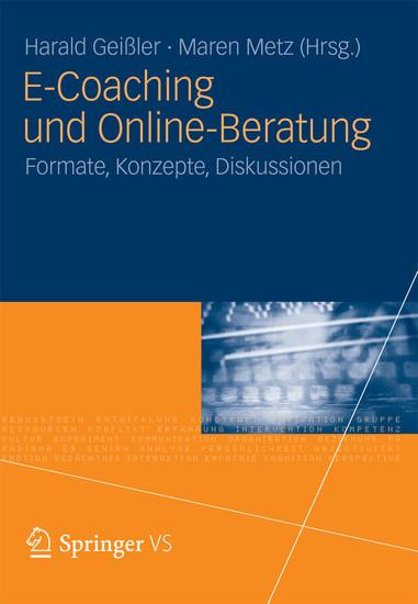 E-Coaching und Online-Beratung - Blick ins Buch