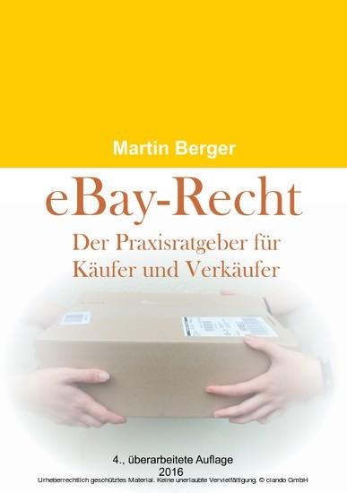 eBay-Recht - Blick ins Buch