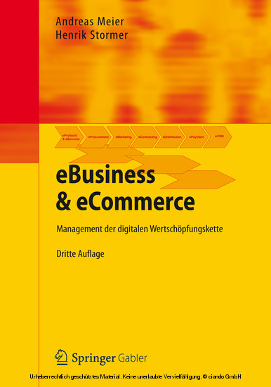 eBusiness & eCommerce - Blick ins Buch