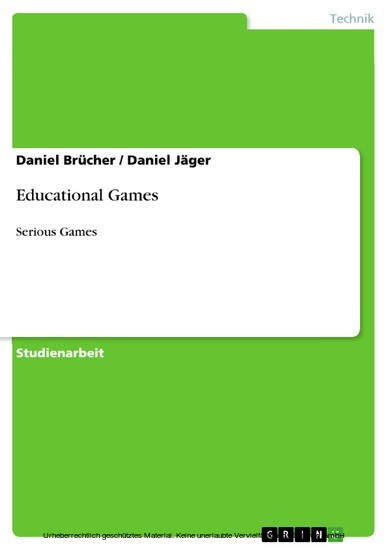 Educational Games - Blick ins Buch