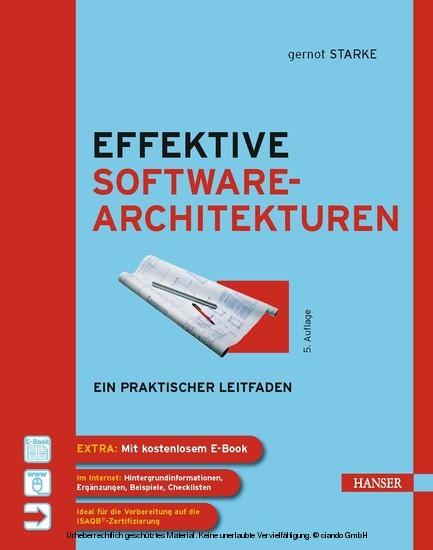 Effektive Softwarearchitekturen - Ein praktischer Leitfaden - Blick ins Buch