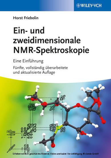 Ein- und zweidimensionale NMR-Spektroskopie - Blick ins Buch