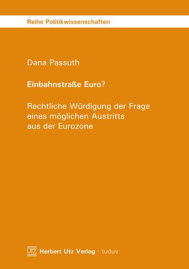 Einbahnstraße Euro? - Blick ins Buch