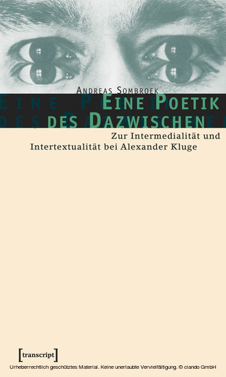 Eine Poetik des Dazwischen - Blick ins Buch