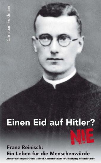 Einen Eid auf Hitler? NIE - Blick ins Buch