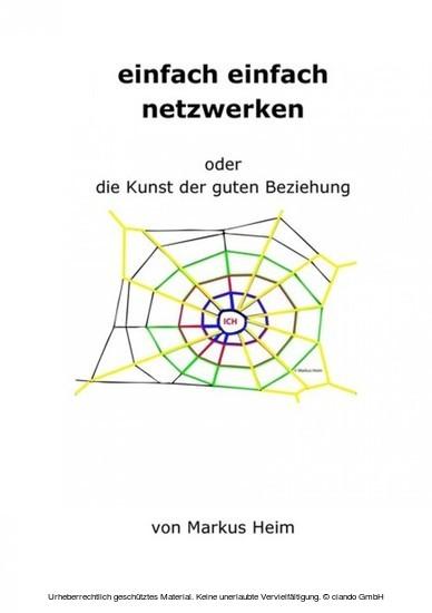 einfach einfach netzwerken - Blick ins Buch
