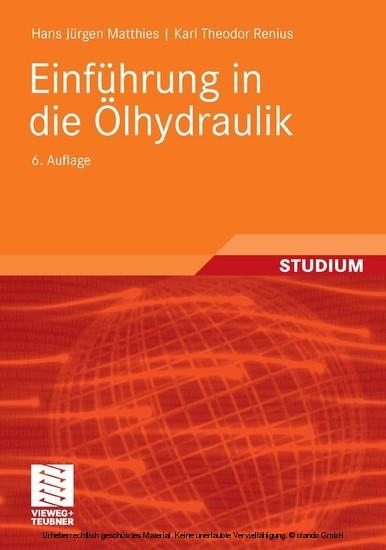Einführung in die Ölhydraulik - Blick ins Buch