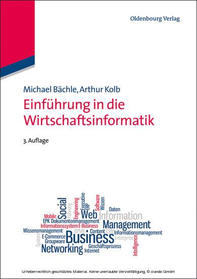 Einführung in die Wirtschaftsinformatik - Blick ins Buch