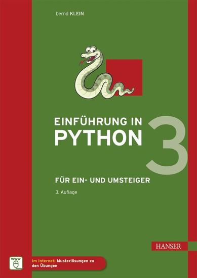 Einführung in Python 3 - Blick ins Buch