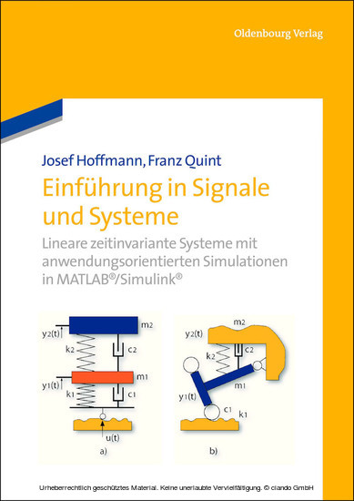 Einführung in Signale und Systeme - Blick ins Buch