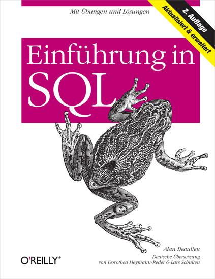 Einführung in SQL - Blick ins Buch