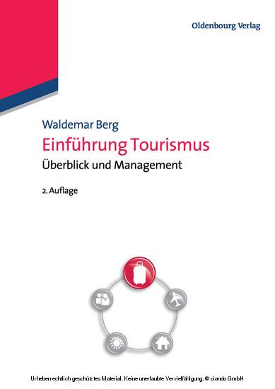 Einführung Tourismus - Blick ins Buch