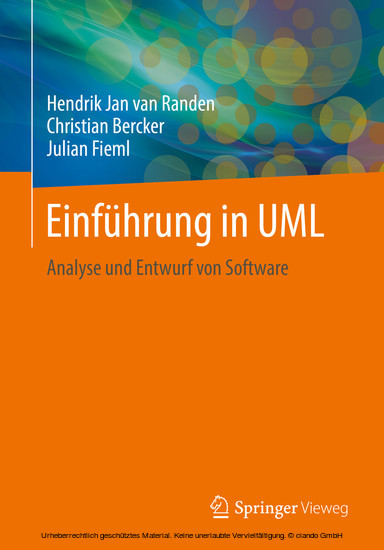 Einführung in UML - Blick ins Buch