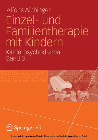 Einzel- und Familientherapie mit Kindern - Blick ins Buch