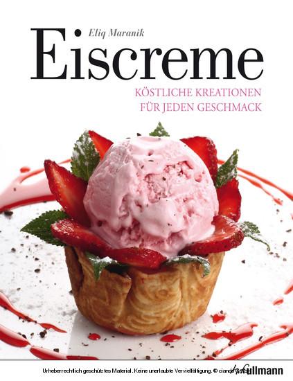 Eiscreme - Blick ins Buch